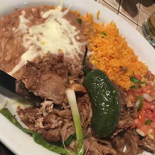 Carnitas Plate @ Fonda Don Chon
