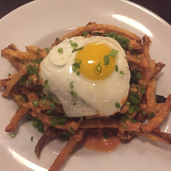 Poutine With Fried Egg