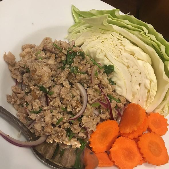 Chicken Larb @ Tao Thai Restaurant