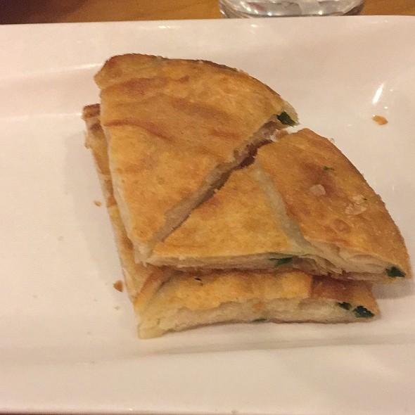 Chinese Green Onion Pancake @ Jeng Chi Restaurant