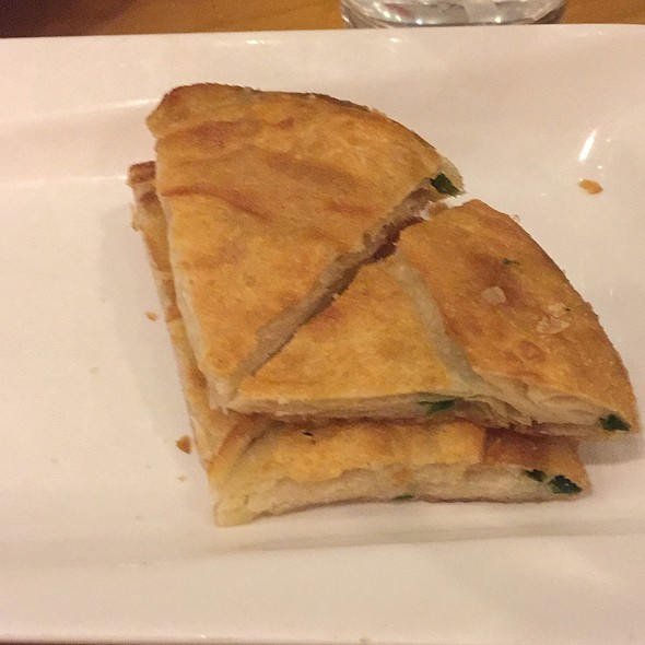 Chinese Green Onion Pancake @ Jeng Chi Restaurant