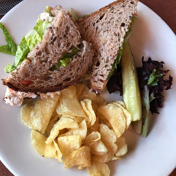 Tuna salad sandwich @ Baba Louie's
