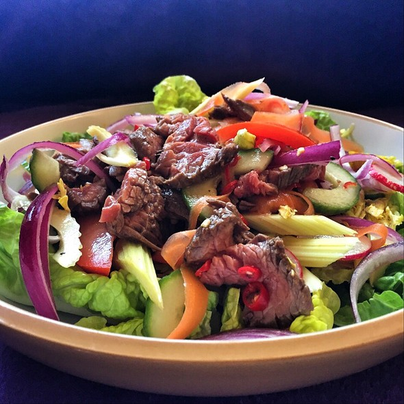 Thai Beef Salad (Yum Nuea) @ Little Venice Country Park
