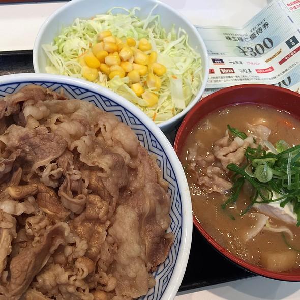 牛丼 大 Aセット @ 吉野家 西五反田一丁目店