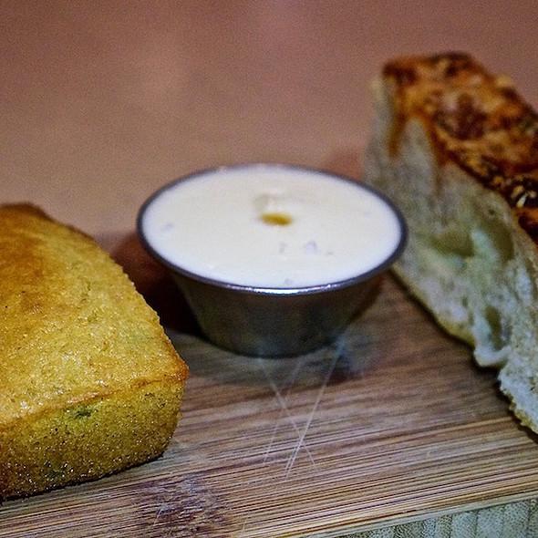 Cornbread And Parmesan Foccacia