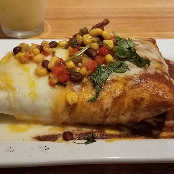Smothered Prime Rib Burrito