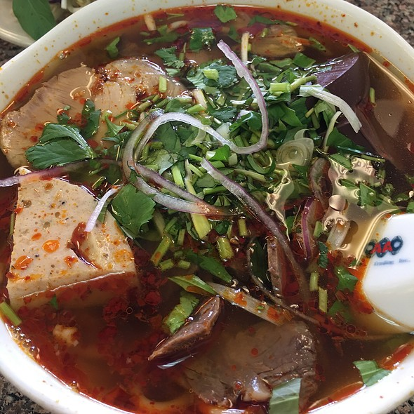 Bun Bo Hue @ Pho Tay DO