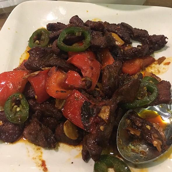 Curry Lamb @ Jeng Chi Restaurant