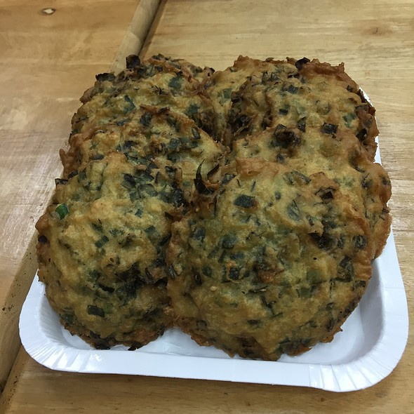 oyster fritters @ 王功漁港