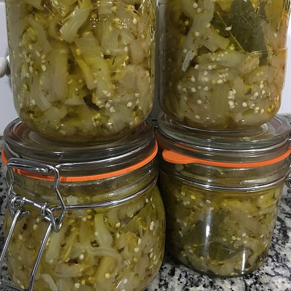 Pickled Aubergines