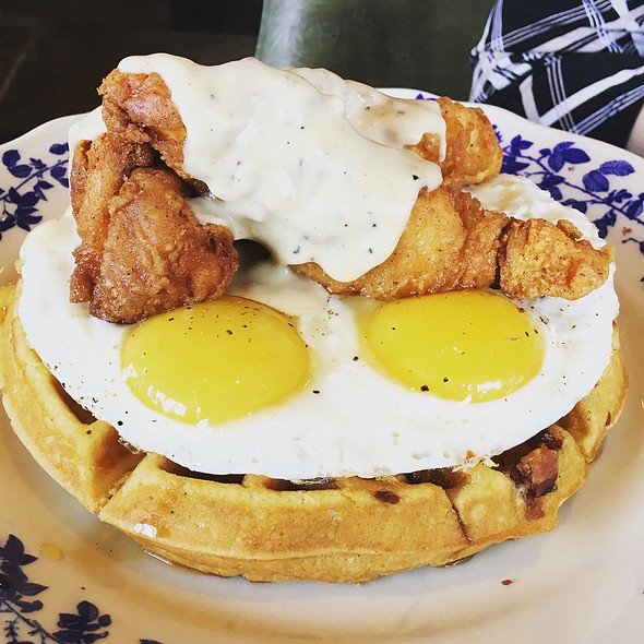 Chicken and Waffles @ Ida Claire