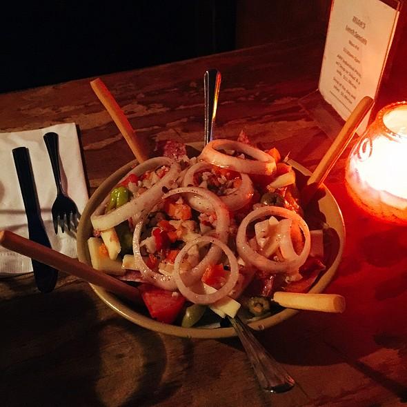 House Salad @ Zelda's Original Gourmet Pizza