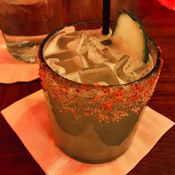 Spicy Cucumber Margarita