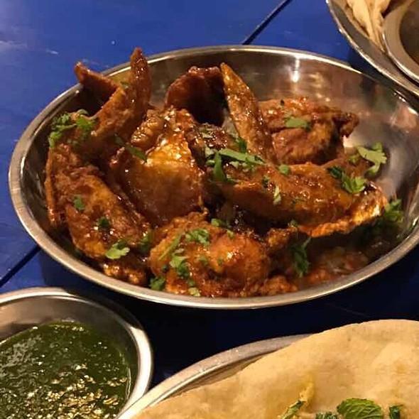 Spicy Mango Chutney Glazed Wings @ Naan