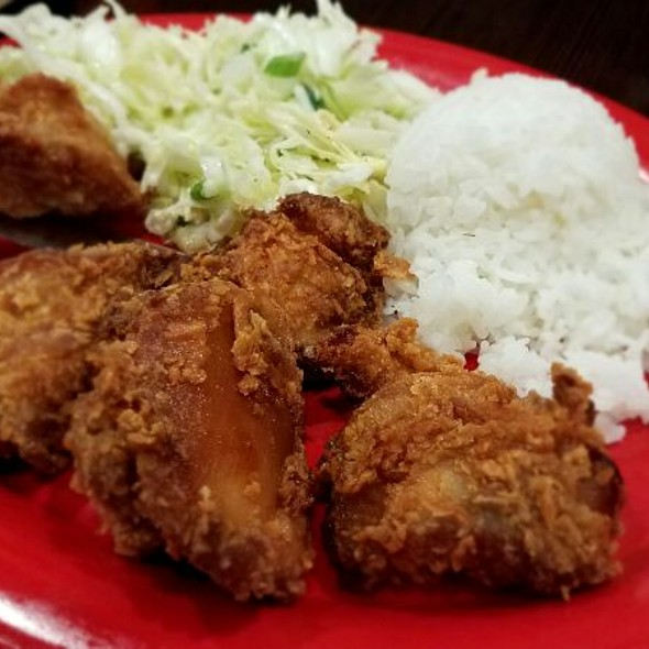 Island Style Fried Chicken @ The Loft