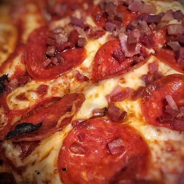 Cured Meats Pizza @ Arugula