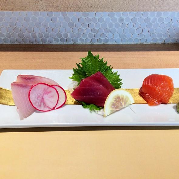 assorted sashimi @ Tempura Ichidai