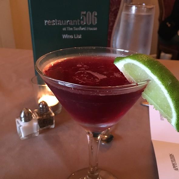 Hibiscus Martini @ Restaurant506