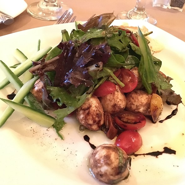 Baby Heirloom Tomato & Fresh Mozzarella Pearls @ Restaurant506
