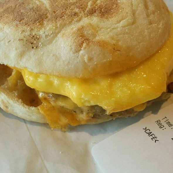 Sausage & Egg Sandwich @ Starbucks