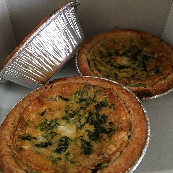 Vegetable Quiche @ Sconees Bakery