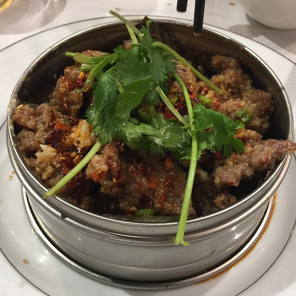 Steamed Spicy Beef