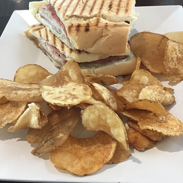 Cuban Sandwich With Handmade Chips