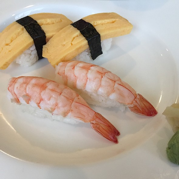 Ebi And Tamago Sushi