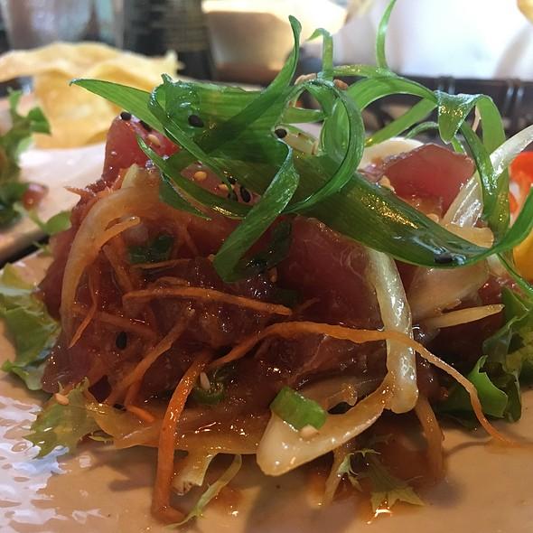 ahi poke @ Banzai Sushi Bar