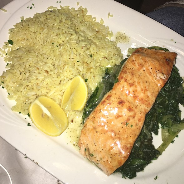 Fresh Filet Of Salmon Ladoregano
