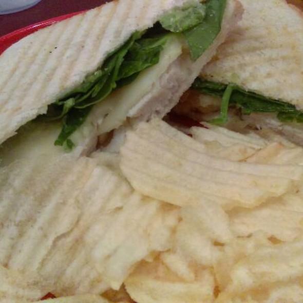 Avocado Chicken Sandwich @ Red Elm Cafe