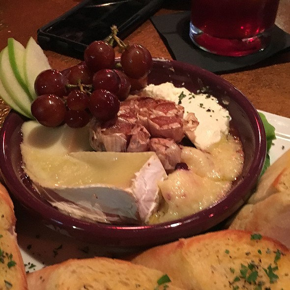 Baked Cheese Terra Cotta Plate @ Jazz'd Tapas Bar