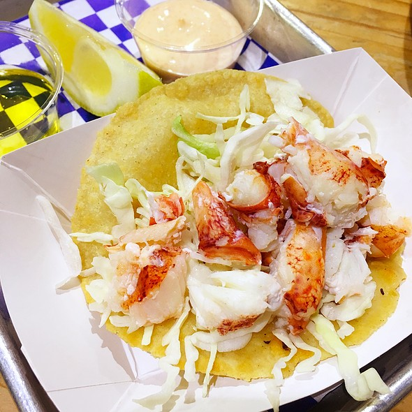Lobster Taco @ New England Lobster Market & Eatery