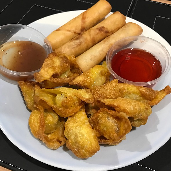 Spring rolls and wontons