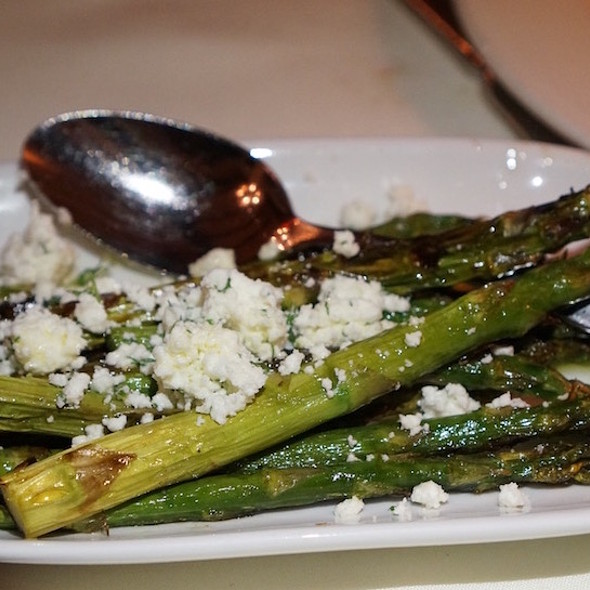 Roasted Asparagus With Feta And Dill