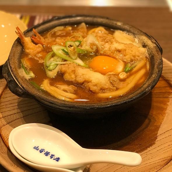 Miso Udon Noodle Soup With Shrimp