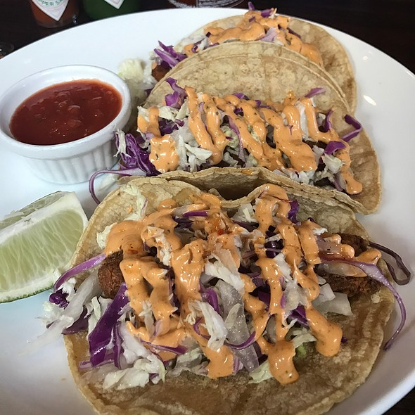 Baja Fish Tacos @ The Harp And Fiddle