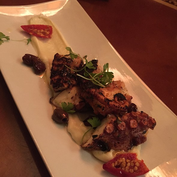 Chargrilled Octopus @ Nicola's