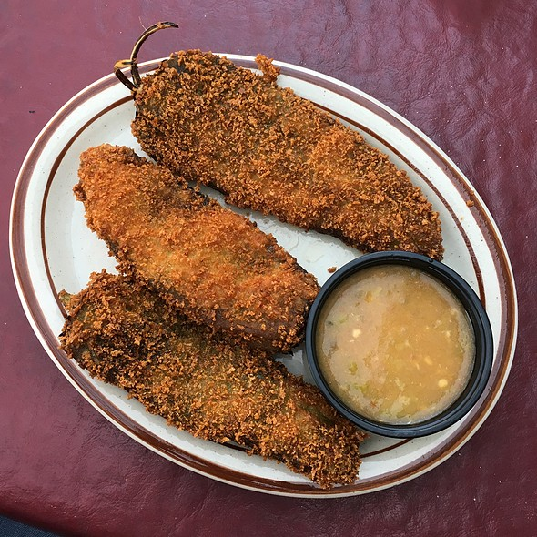 Fried Green Chiles At El Patio De Albuquerque