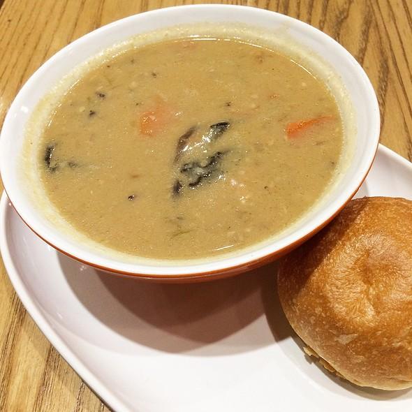 Chicken Buckwheat Miso Soup