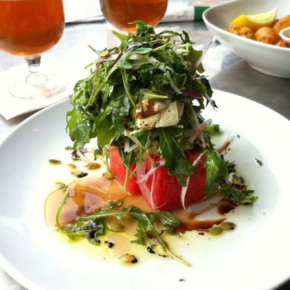 Watermelon and Feta Salad @ Varga Bar