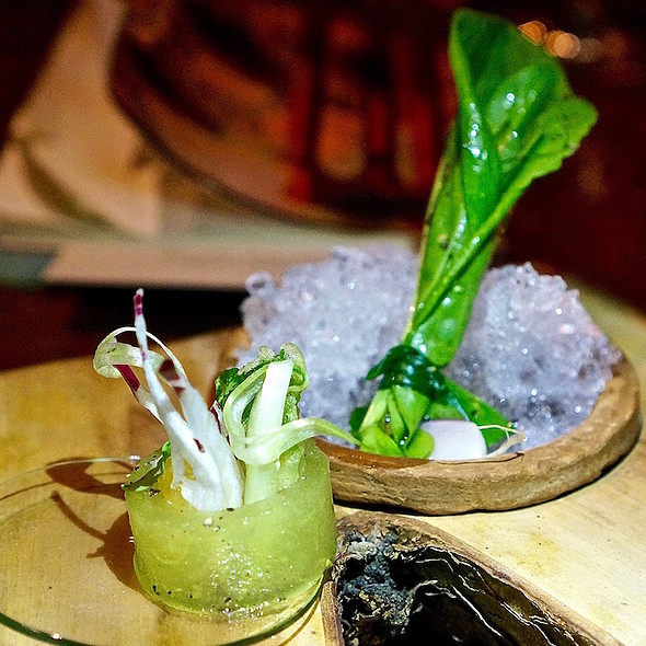 Melon, herbs, liquamen @ Next Restaurant