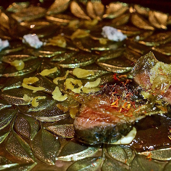 Venison, chestnut, laurel @ Next Restaurant