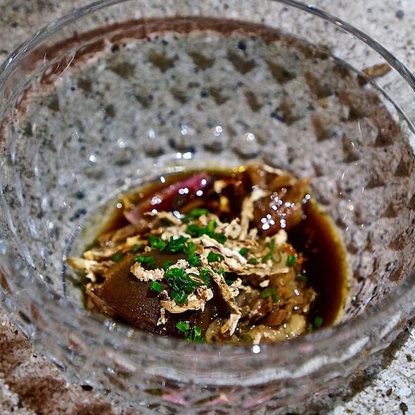 Oxtail, turnip, horseradish