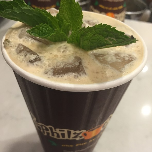 Iced Mint Mojito Coffee