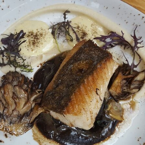 Roast Cod with Wild Mushrooms