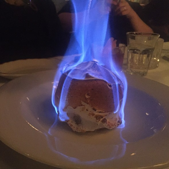 Baked Alaska With Strawberry Compote