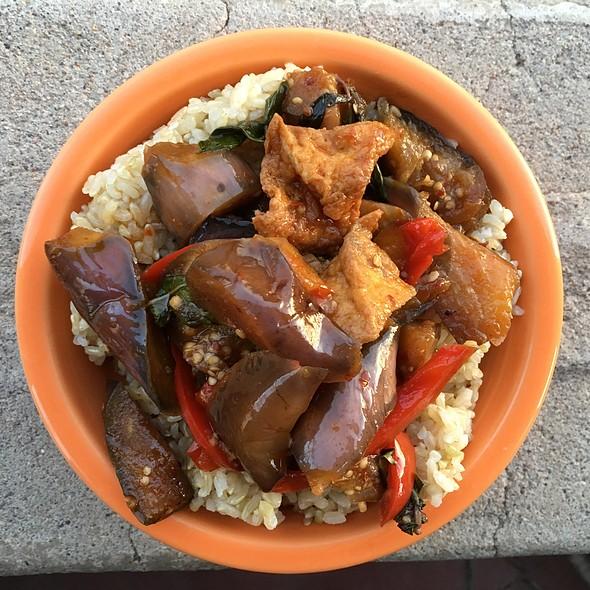 Spicy Eggplant And Tofu @ Thai Cuisine II