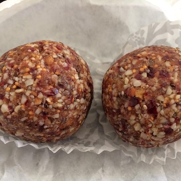 Vegan Energy Balls @ Sprout Sandwich Shop