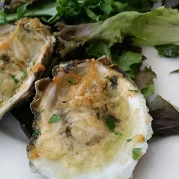 Garlic-Parmesan Oysters